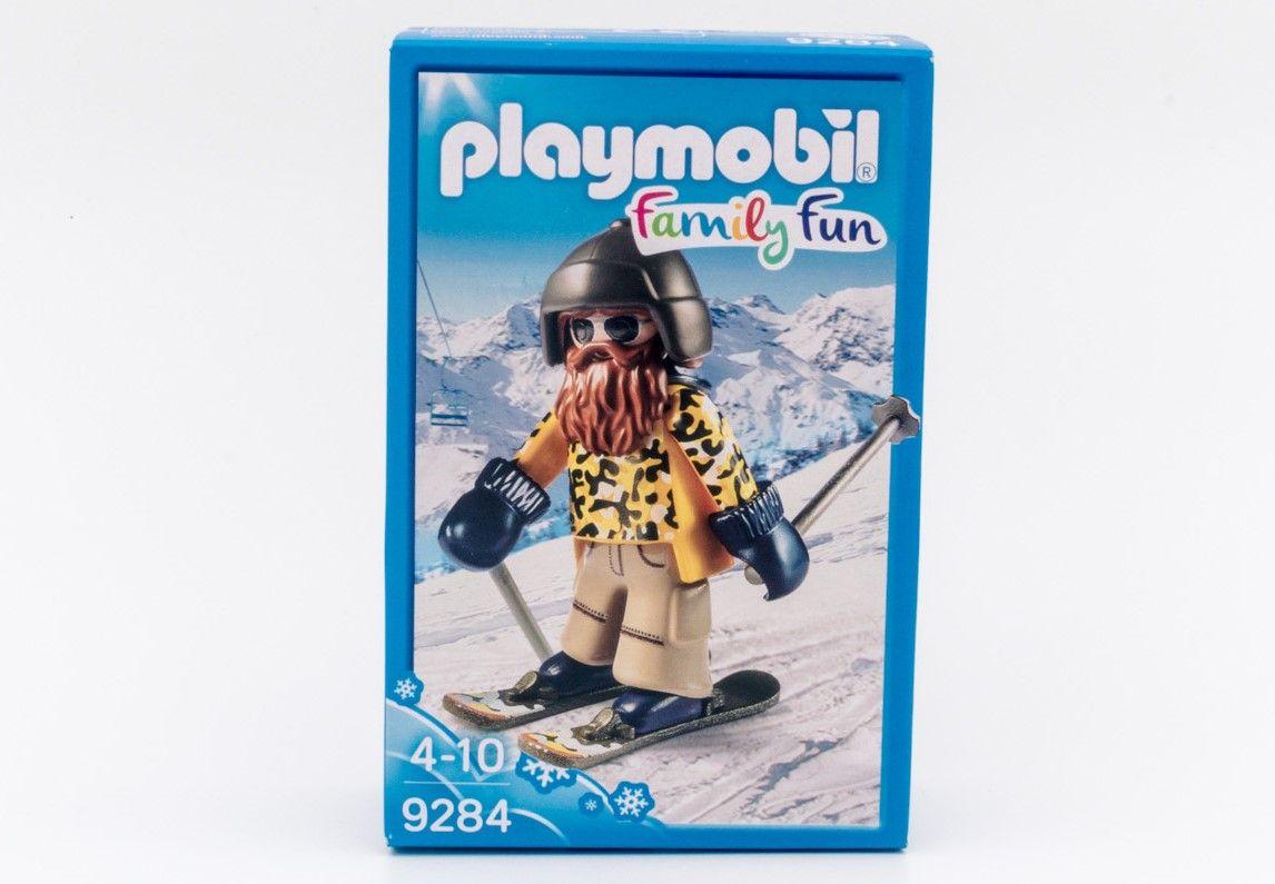 Playmobil 9284 skijaš podstiče učenje kroz igru