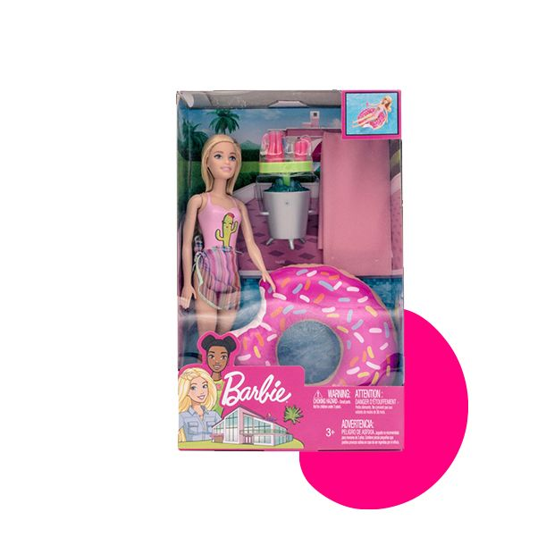 Barbie Poolparty set plavokosa lutka sa šlaufom