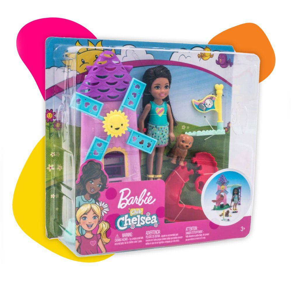 Mattel Barbie Chelsea lutka sa minigolf setom