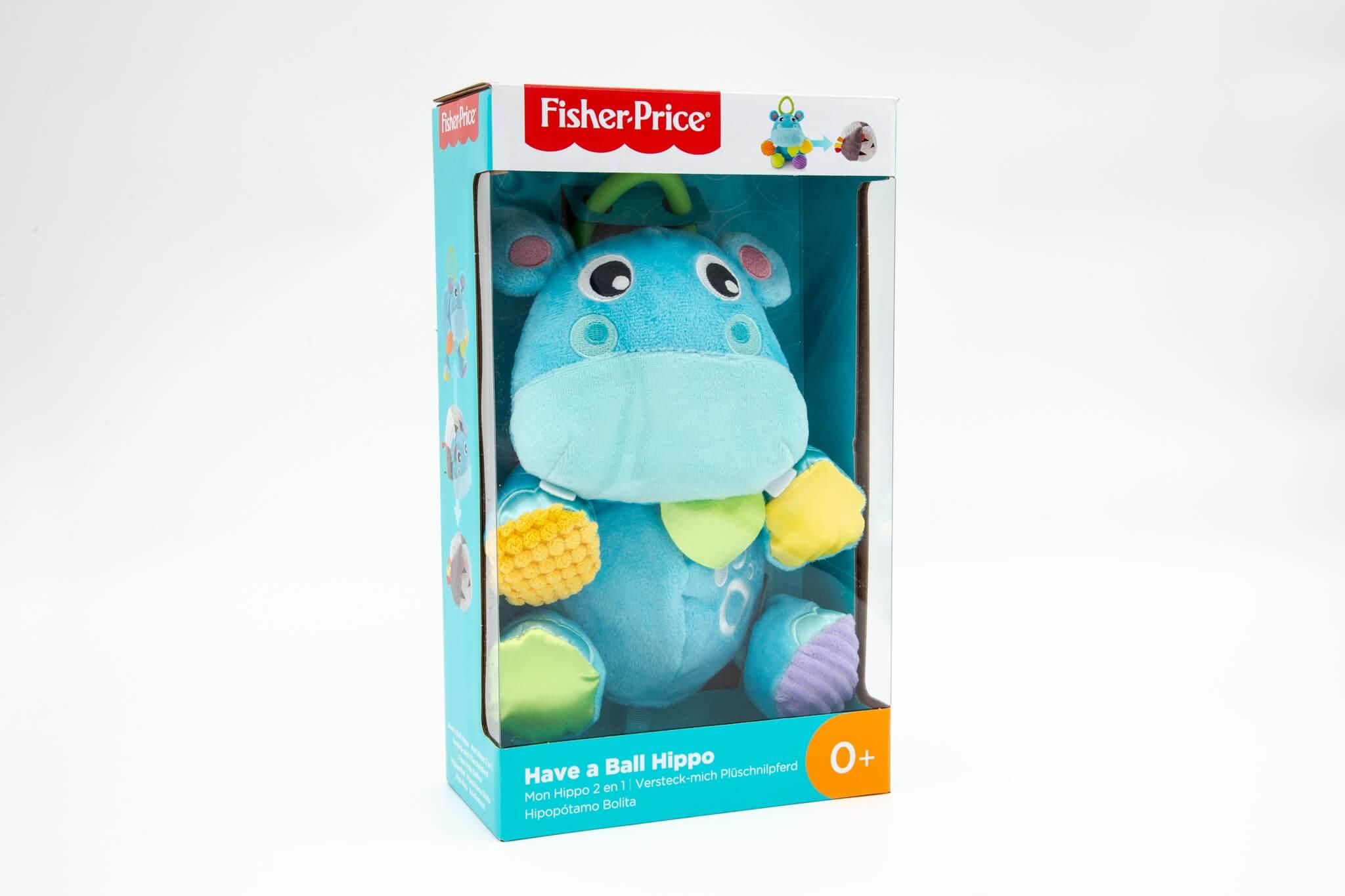 Fisher Price pliš igračka za bebe