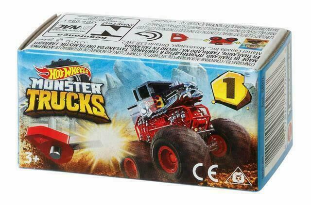 Hot Wheels Mini Monster Truck kolekcija