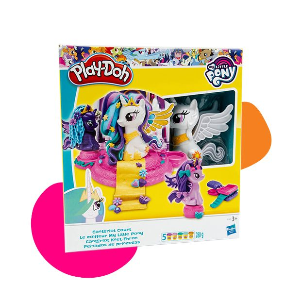 Hasbro Play Doh My Little Pony plastelin