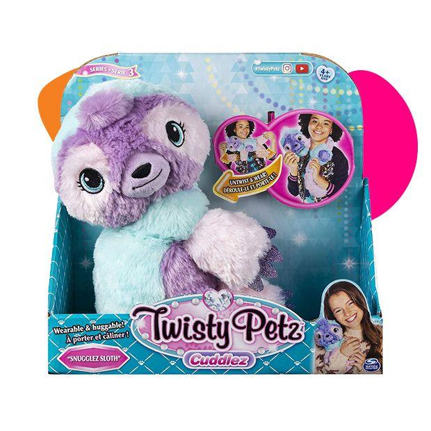 Twisty Petz plišana igračka lenjivac
