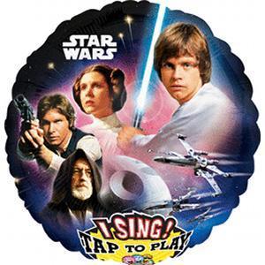 Disney Star Wars party muzički balon folija