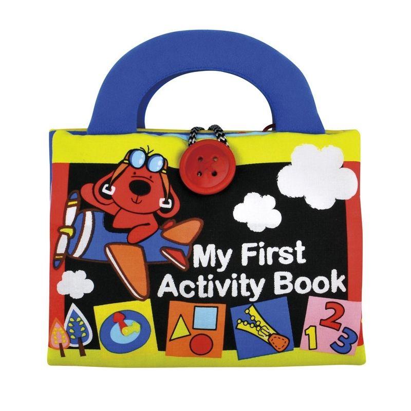 K's Kids plišana knjiga aktivnosti