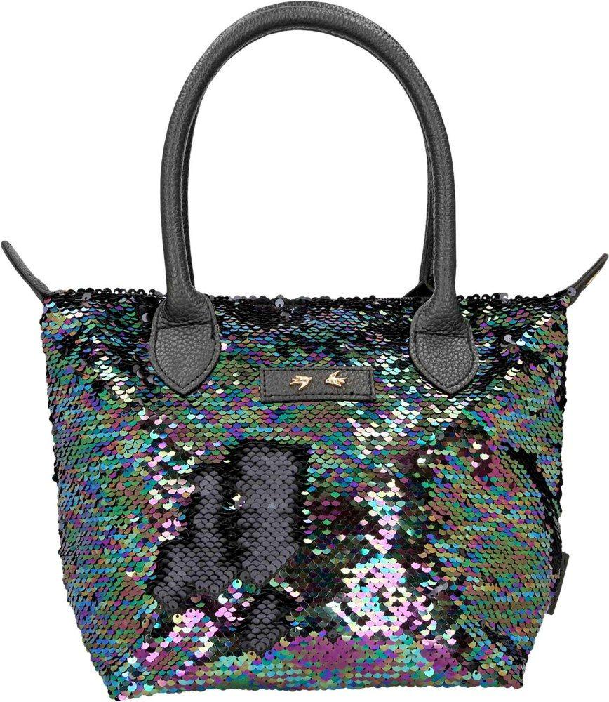 Depesche Trend Love torba sa šljokicama crna