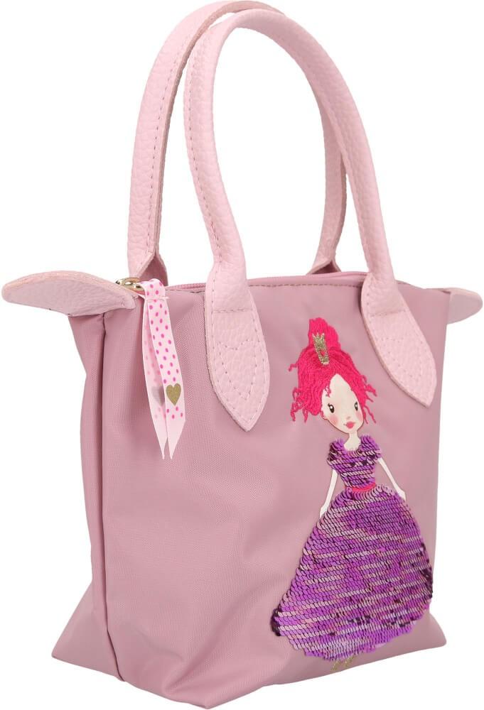 Depesche Trend Love Princess Mimi torba sa šljokicama roze