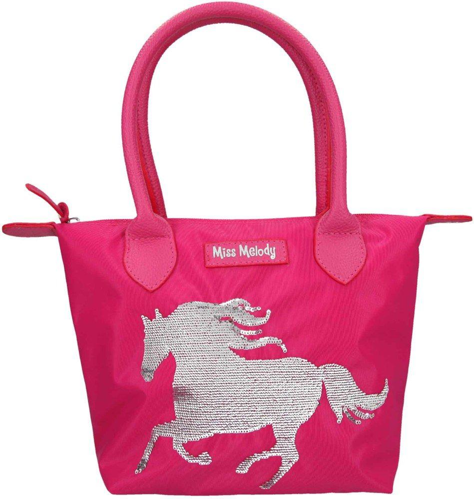 Depesche Miss Melody torba sa šljokicama tamno roze
