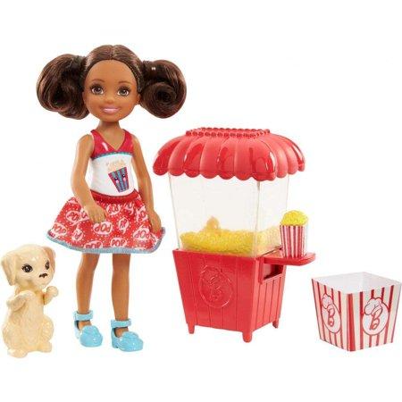 Mattel Barbie lutka Chelse sa kolicima za pravljenje kokica