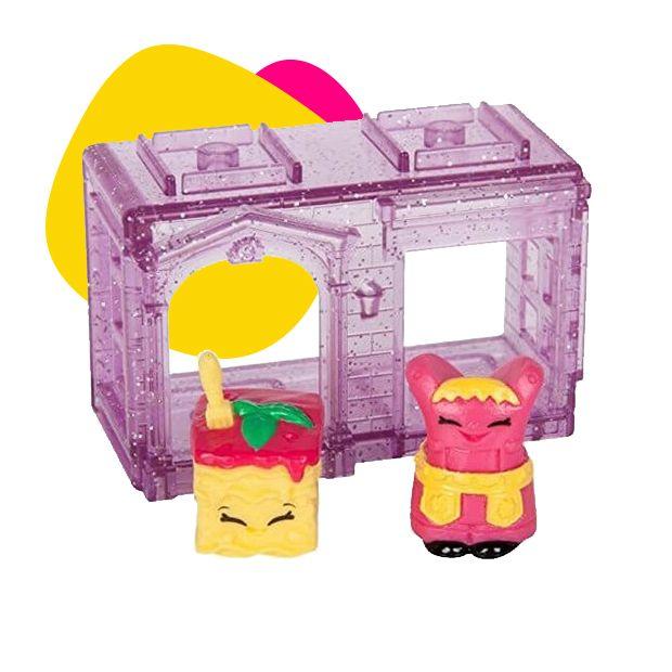 Shopkins lila kućica sa dve figure