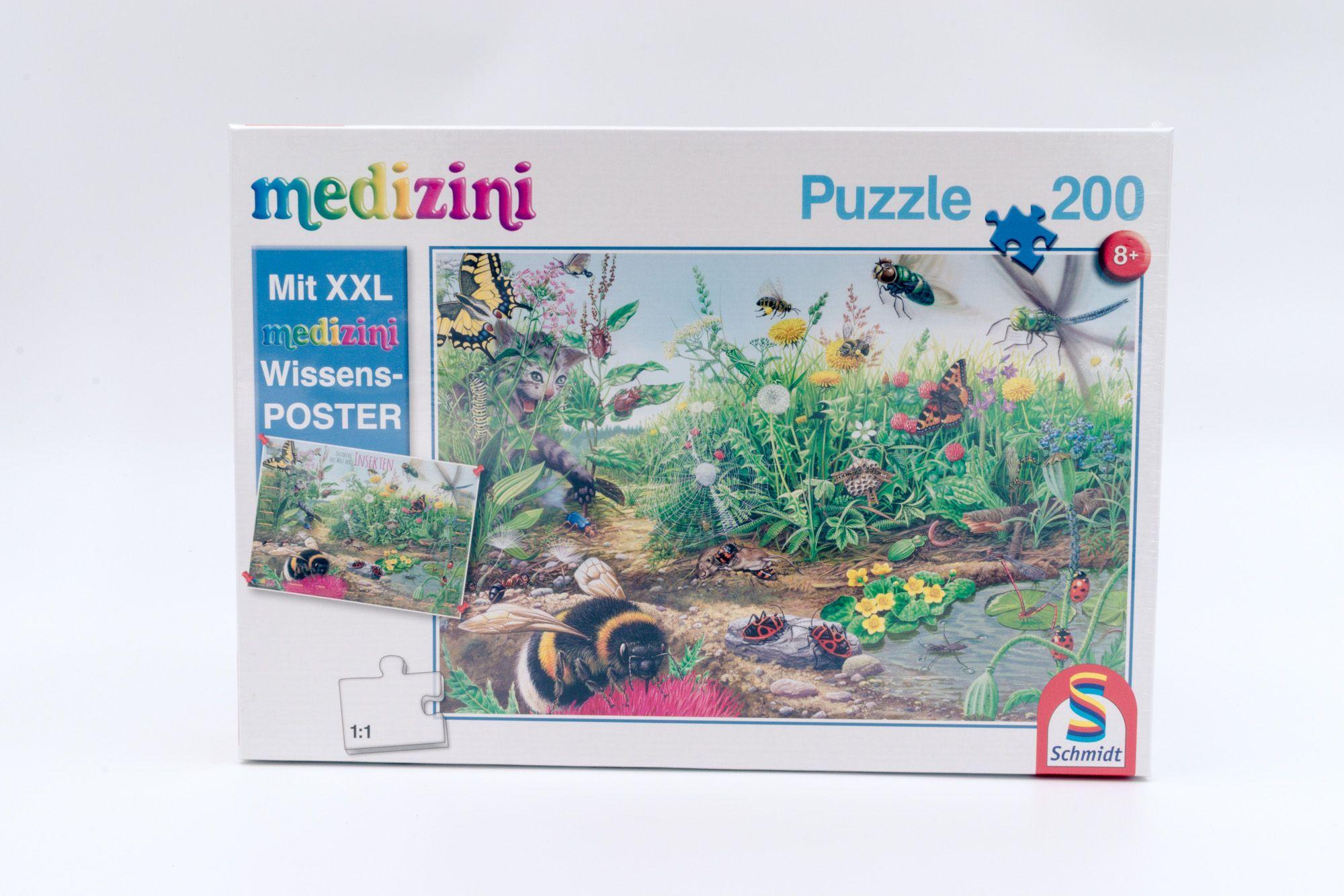 Schmidt dečija slagalica puzzle svet insekata 200 kom.