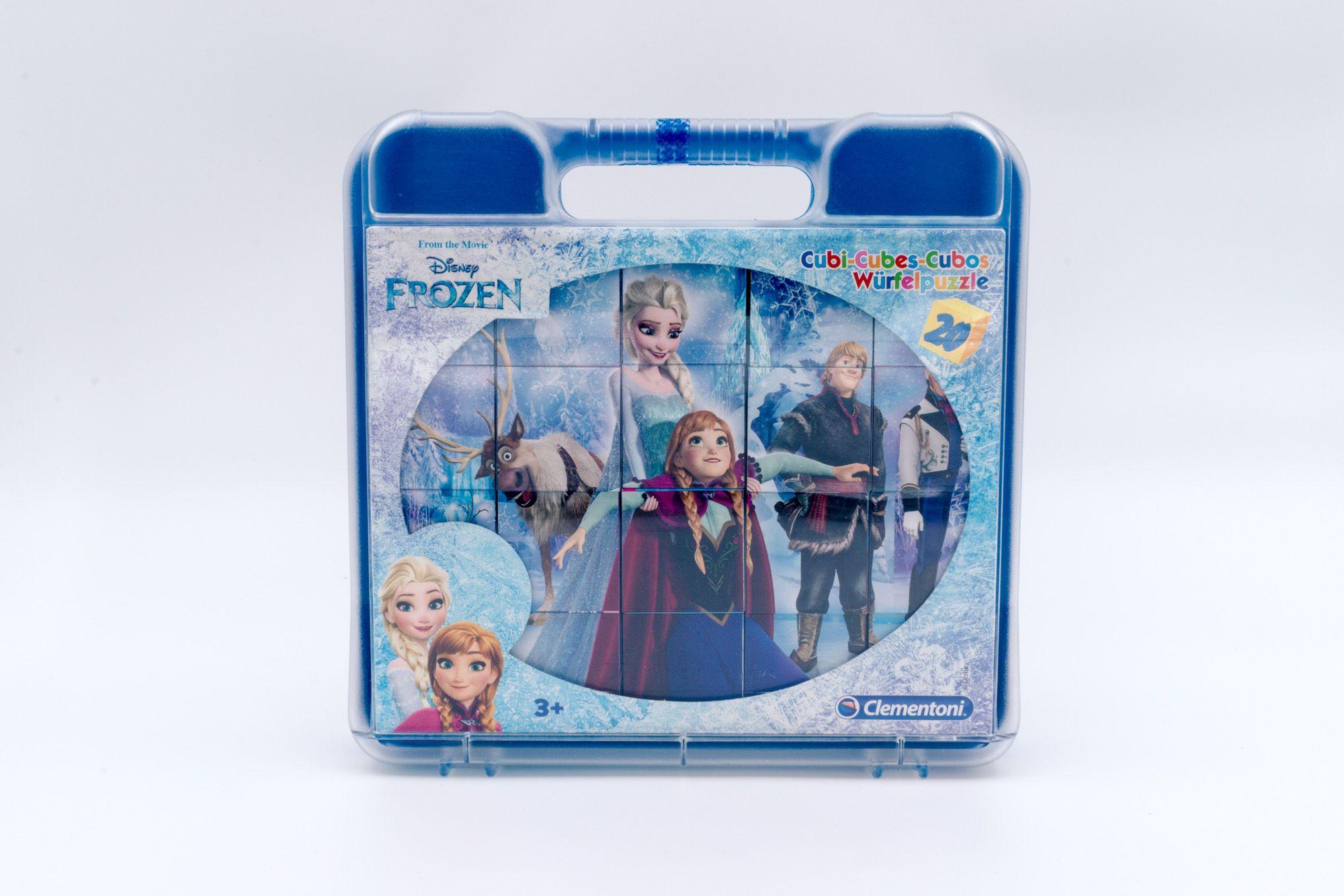 Disney Clementoni Frozen kockasta slagalica