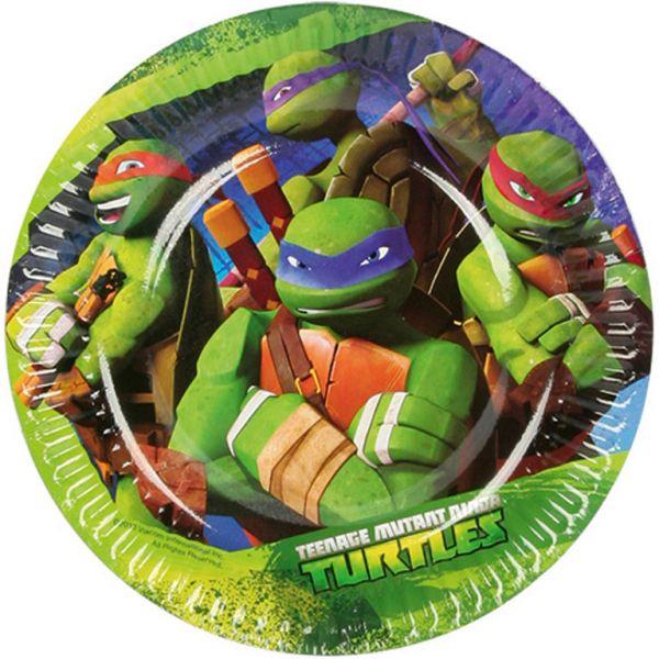Ninja Turtles Nindža Kornjače party kartonski tanjiri  18cm
