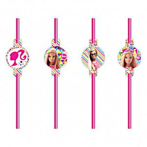 Barbie Party slamke za piće 8 kom.