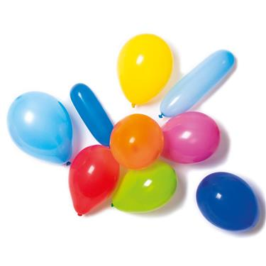 Šareni lateks baloni sa pumpom 10 kom.
