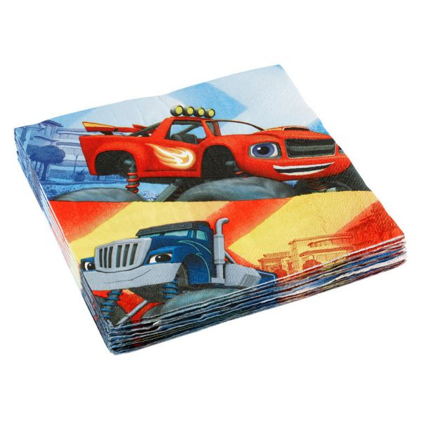 Blaze and the Monster Machines Party salvete 33x33 cm