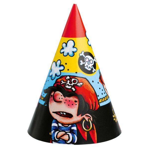 Party kape sa motivom Pirata 6 kom.
