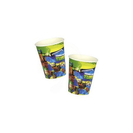 Ninja Turtles Nindža Kornjače Party papirne čaše 8 kom.
