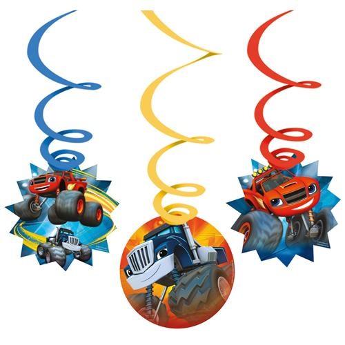 Blaze and the Monster Machines party viseća dekoracija