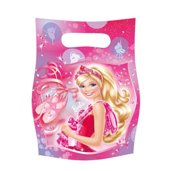 Barbie Balerina party poklon vrećice 6 kom.