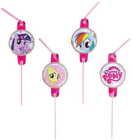 My Little Pony party slamke 8 kom.