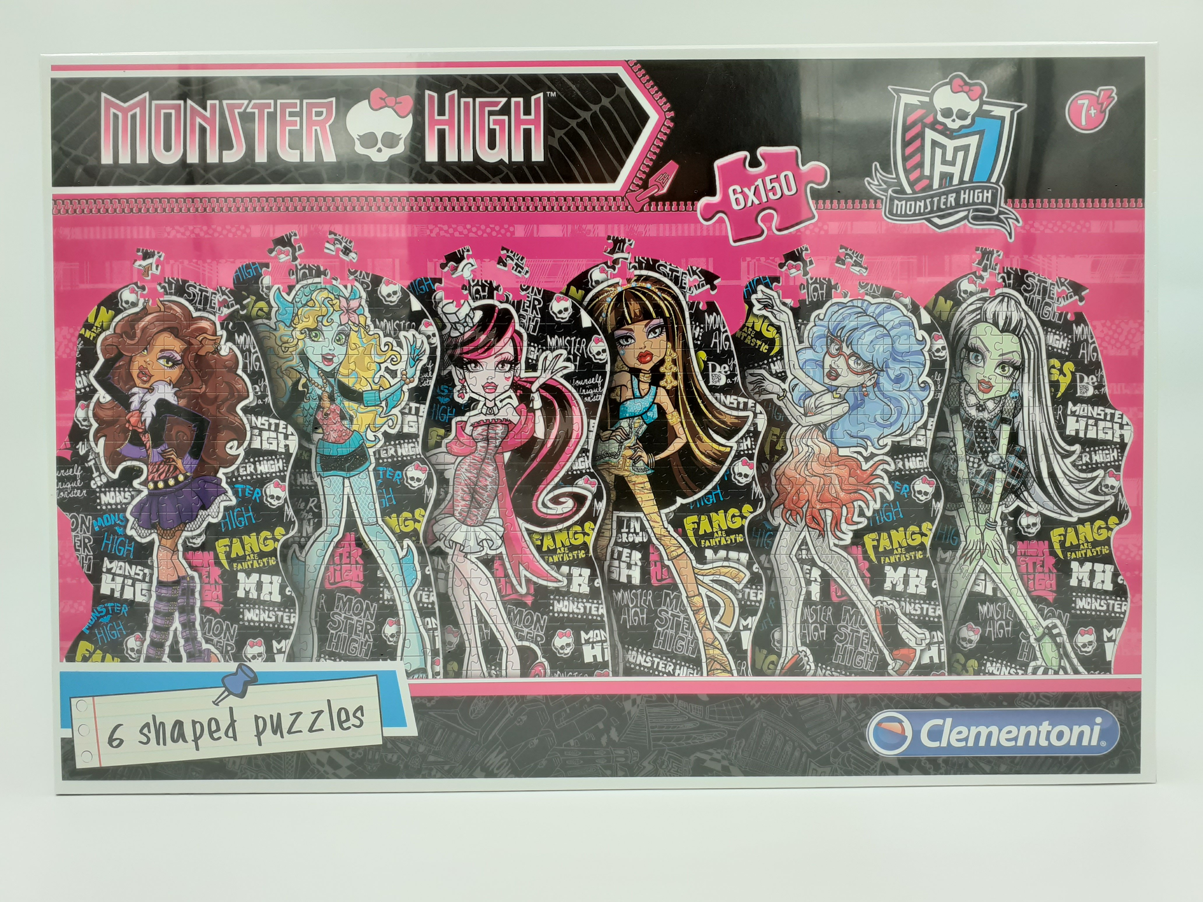Clementoni puzzle Monster High 6x150 kom.