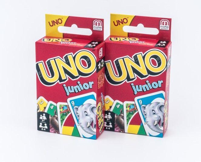 Mattel Uno Junior špil karata od 2 do 10 igrača