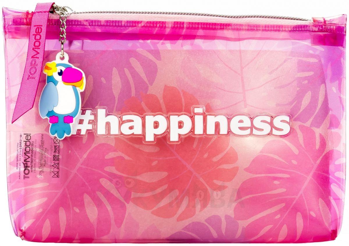 Depesche Top Model happiness print roze neseser