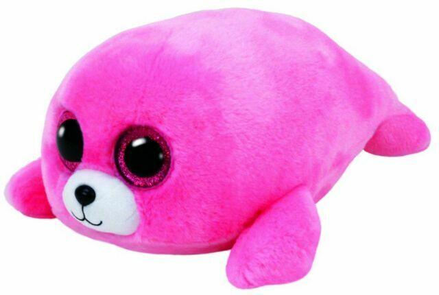 Carletto plišana foka Pierre roze 15 cm