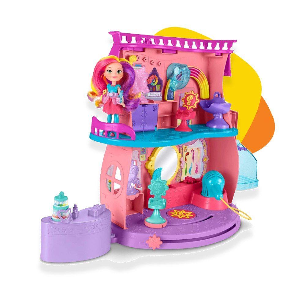 Mattel Sunny Day frizerski salon set sa lutkom