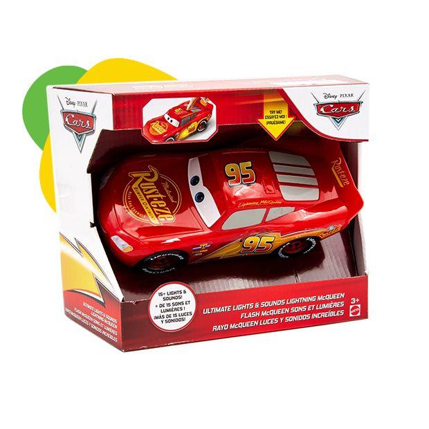 Disney Cars auto sa svetlom i zvukom McQueen engleski jezik