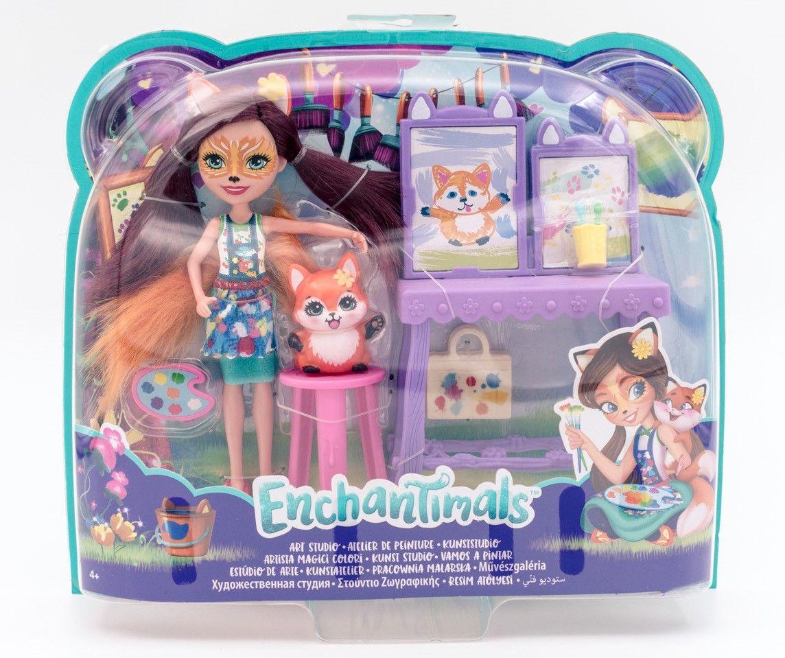 Mattel Enchantimals umetnički studio sa dodacima