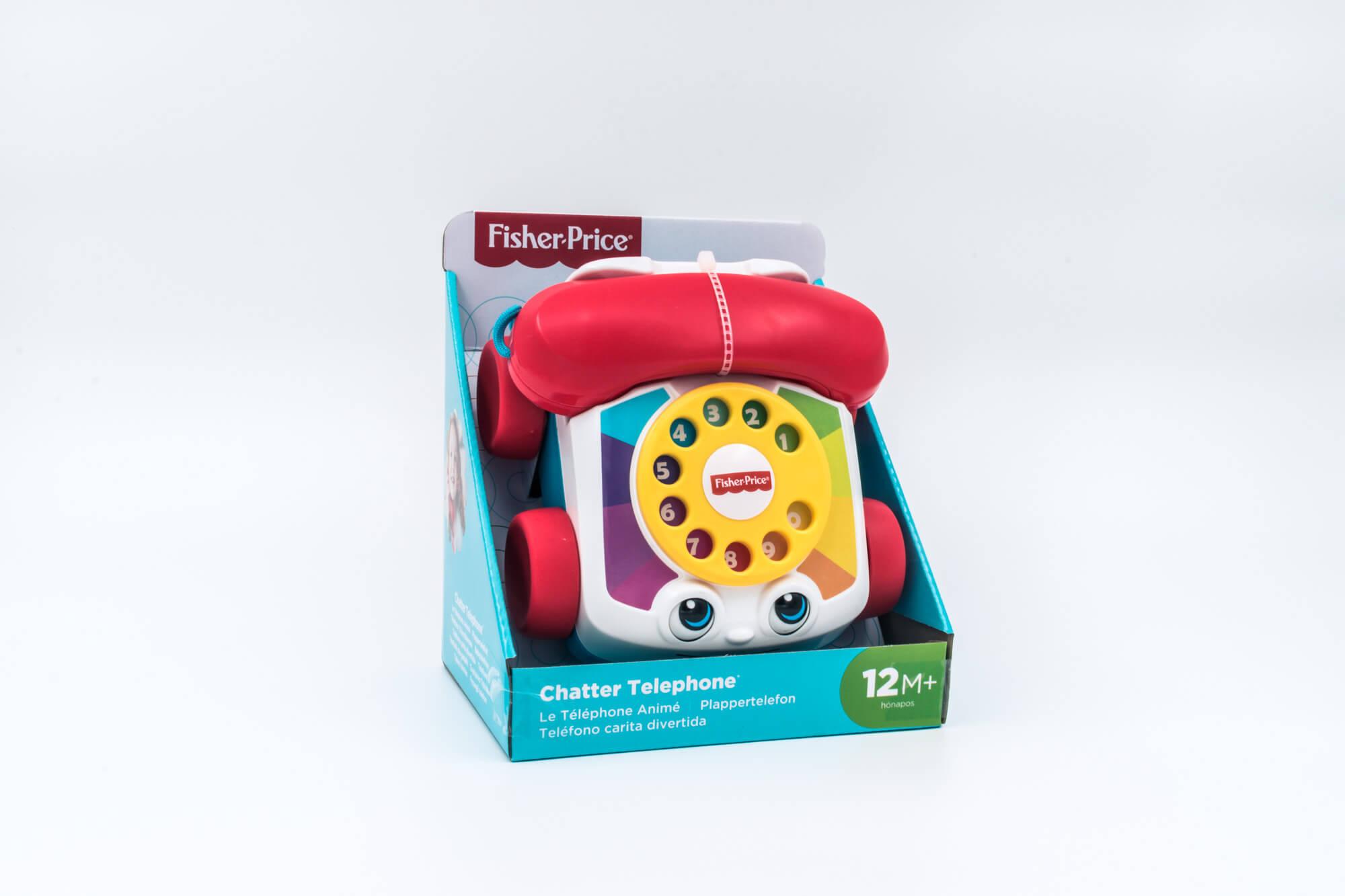Fisher Price igračka plastični telefon sa zvukovima