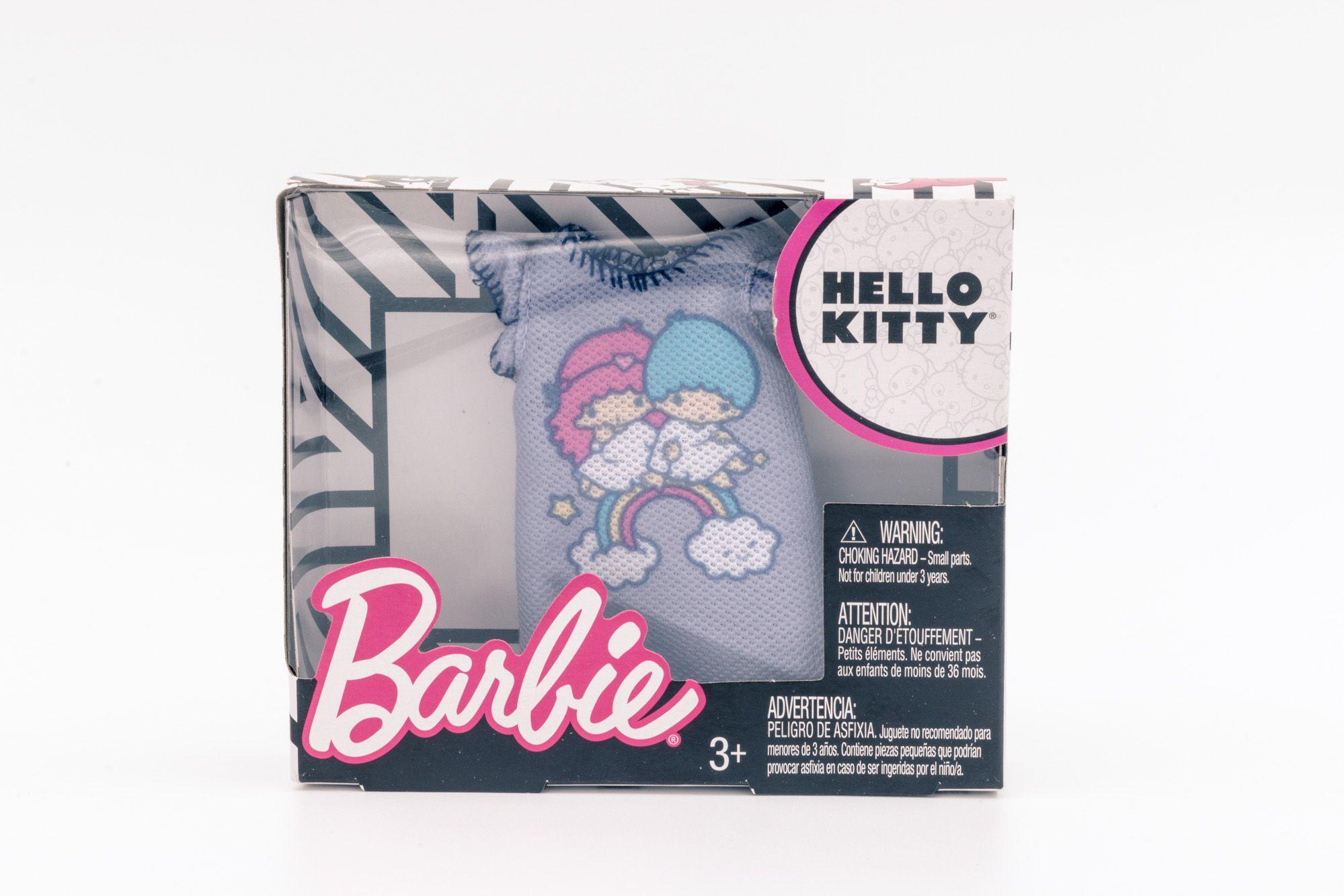 Barbie Hello Kitty modni dodatak ljubičasta majica