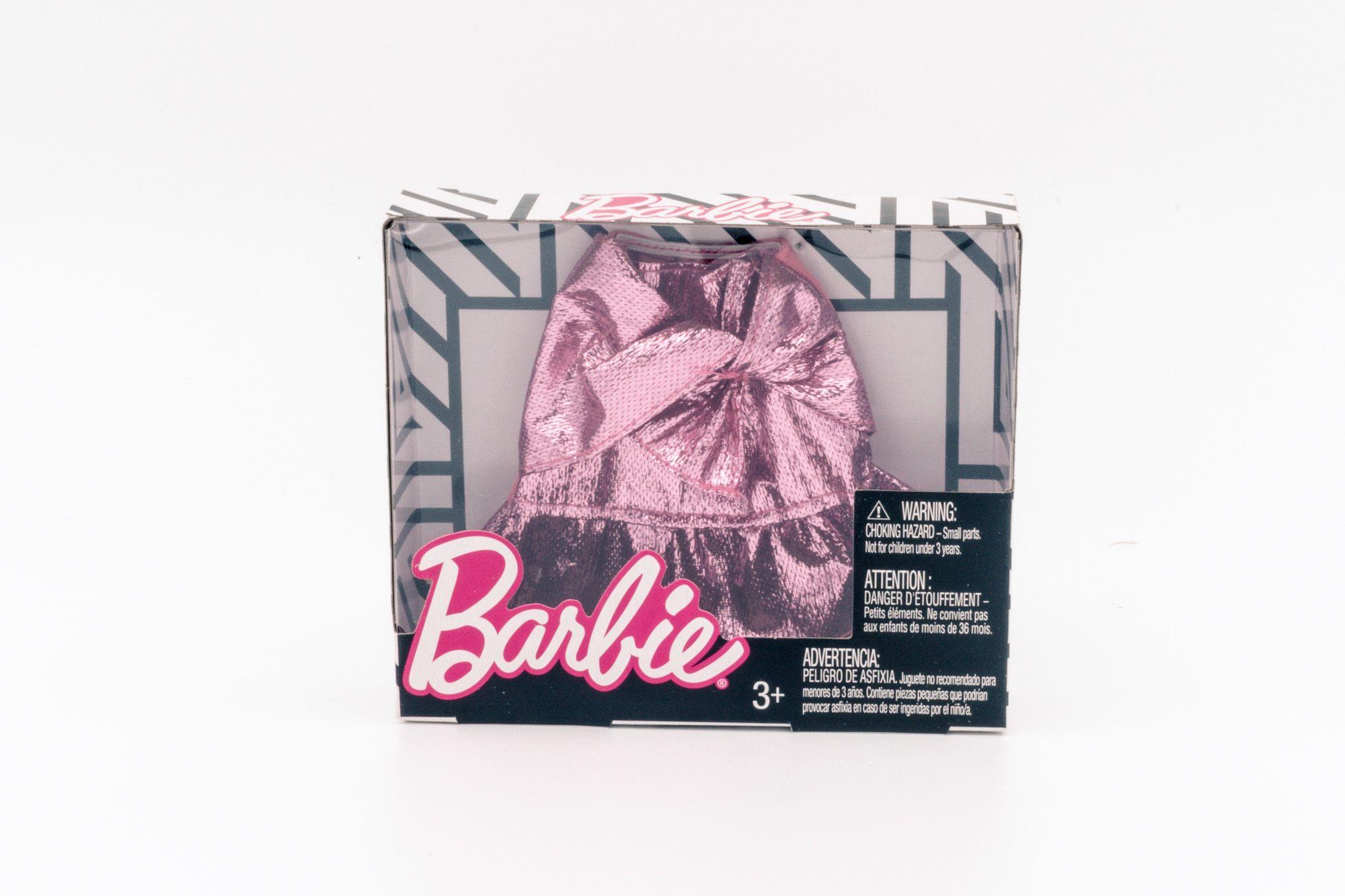 Mattel Barbie modni dodatak svetlucava roze suknja