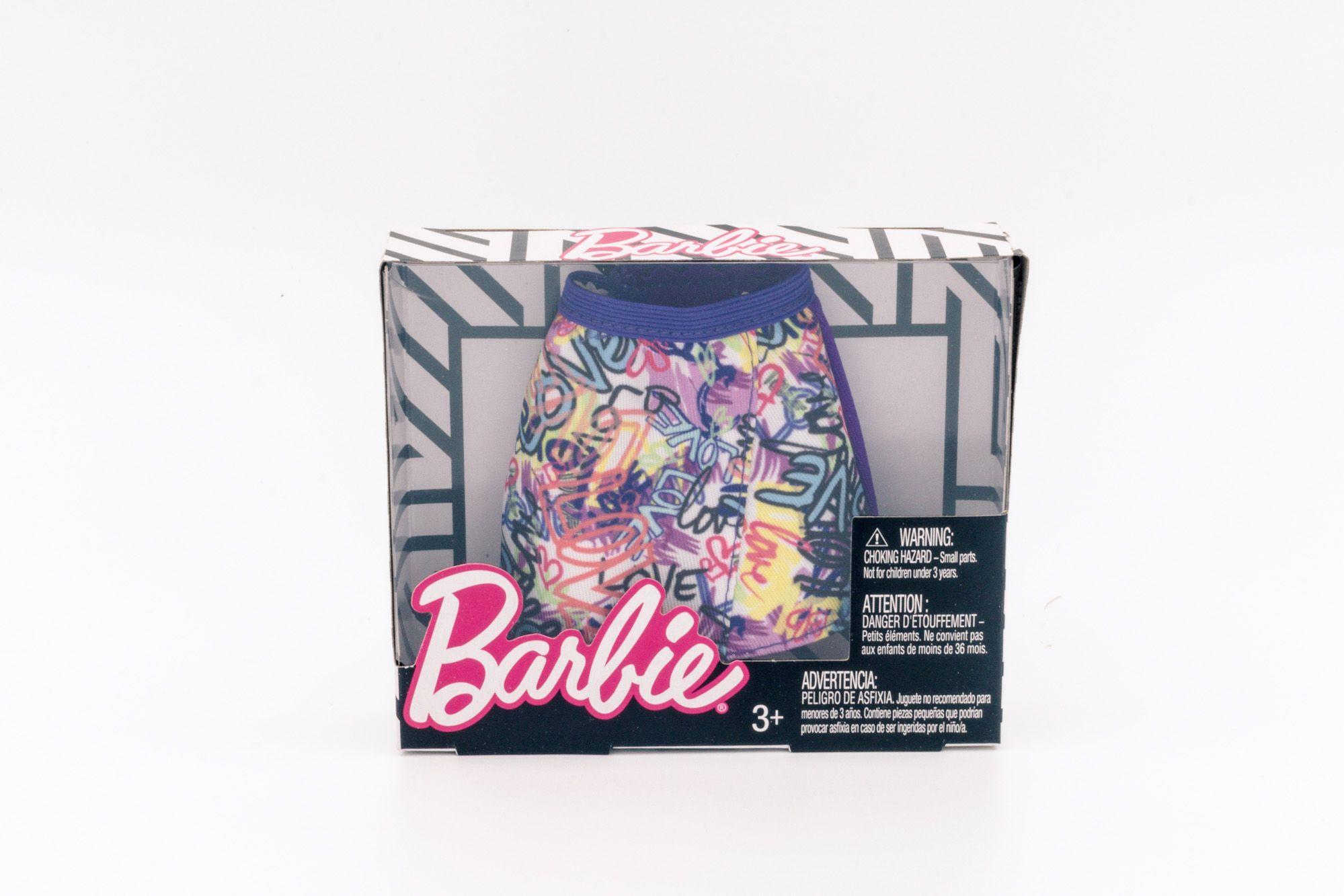 Barbie modni dodatak suknja sa printom slova