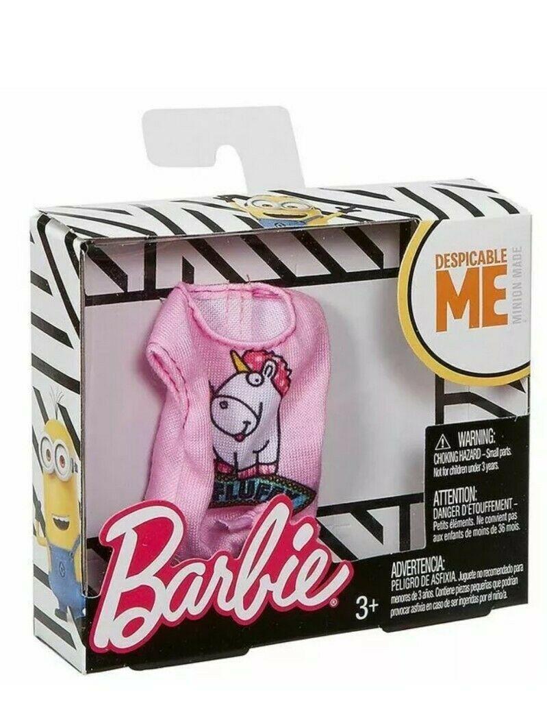 Barbie Minions modni dodatak roze majica