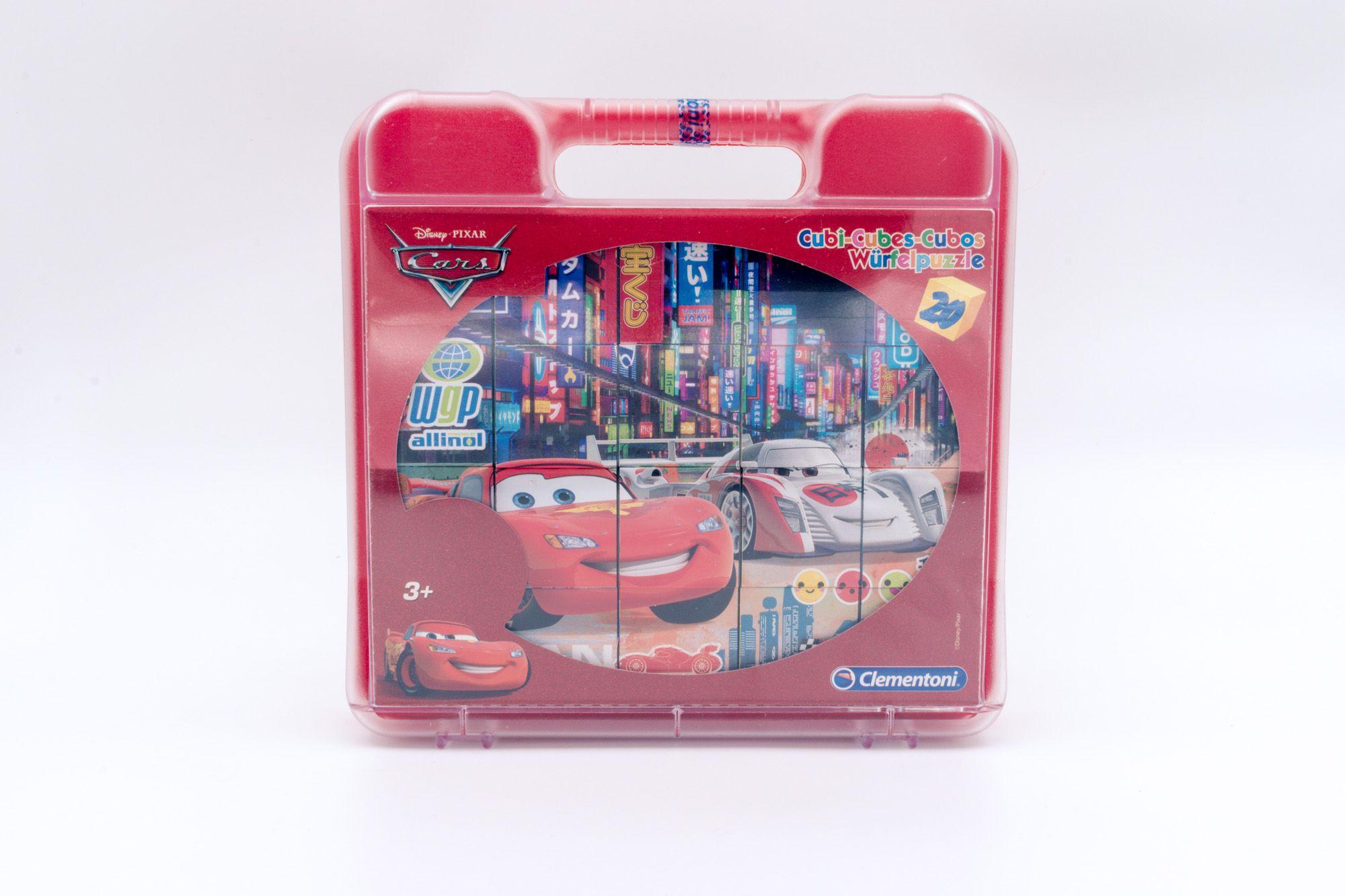 Clementoni Disney Cars kockasta slagalica 20 delova