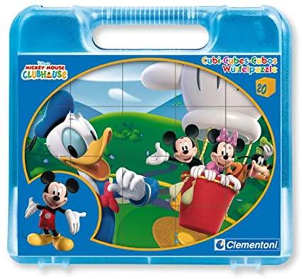 Clementoni Disney Mickey Mouse kockasta slagalica