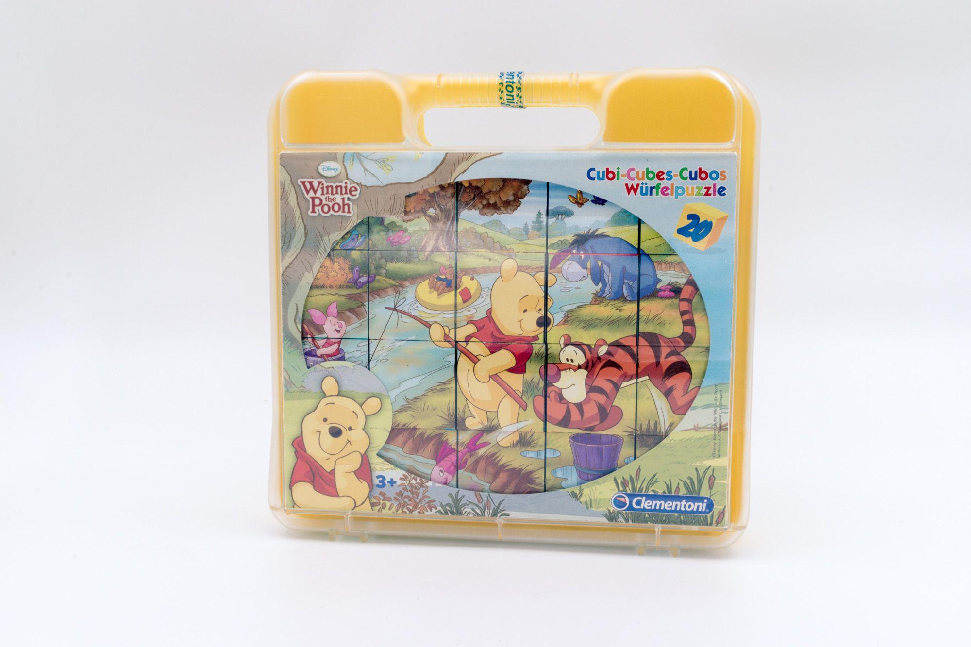 Clementoni Disney Winnie Pooh kockasta slagalica