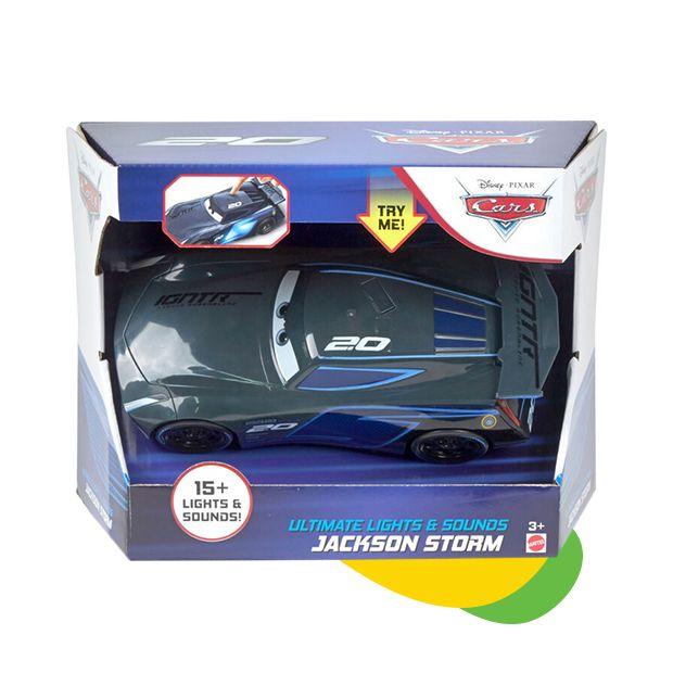 Disney Cars auto sa svetlom i zvukom Jackson engleski jezik