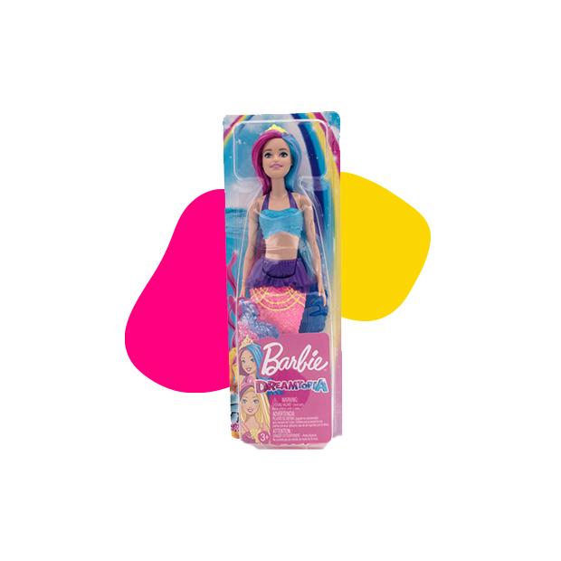 Barbie Dreamtopia morska sirena roze