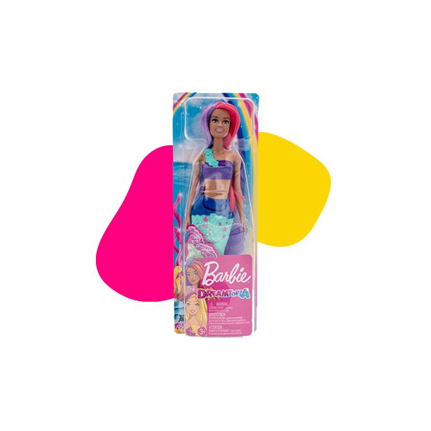 Barbie Dreamtopia morska sirena zelena