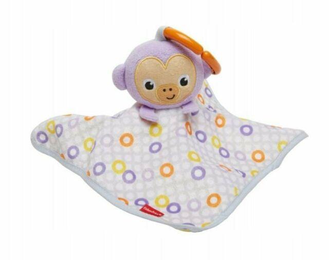 Fisher Price peškir za utehu lila majmun