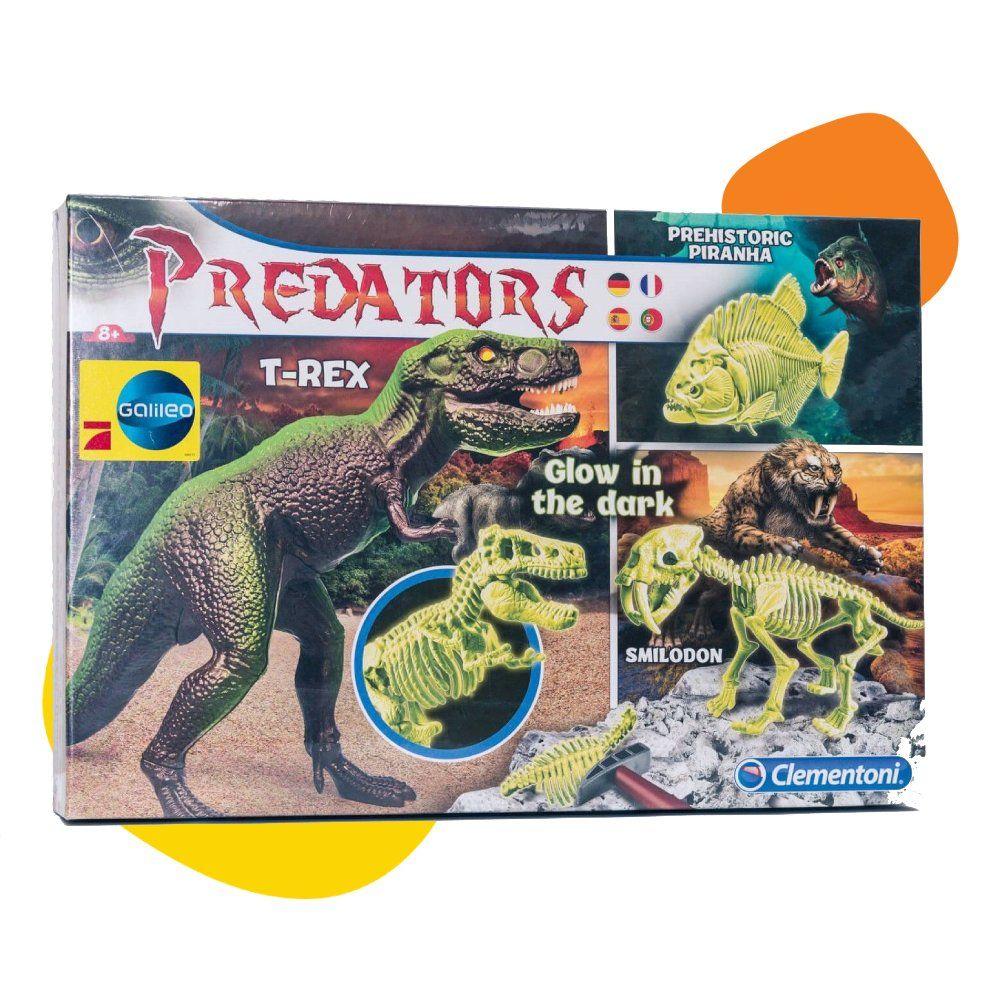 Clementoni Galileo Predator T-Rex za 2 do 6 igrača