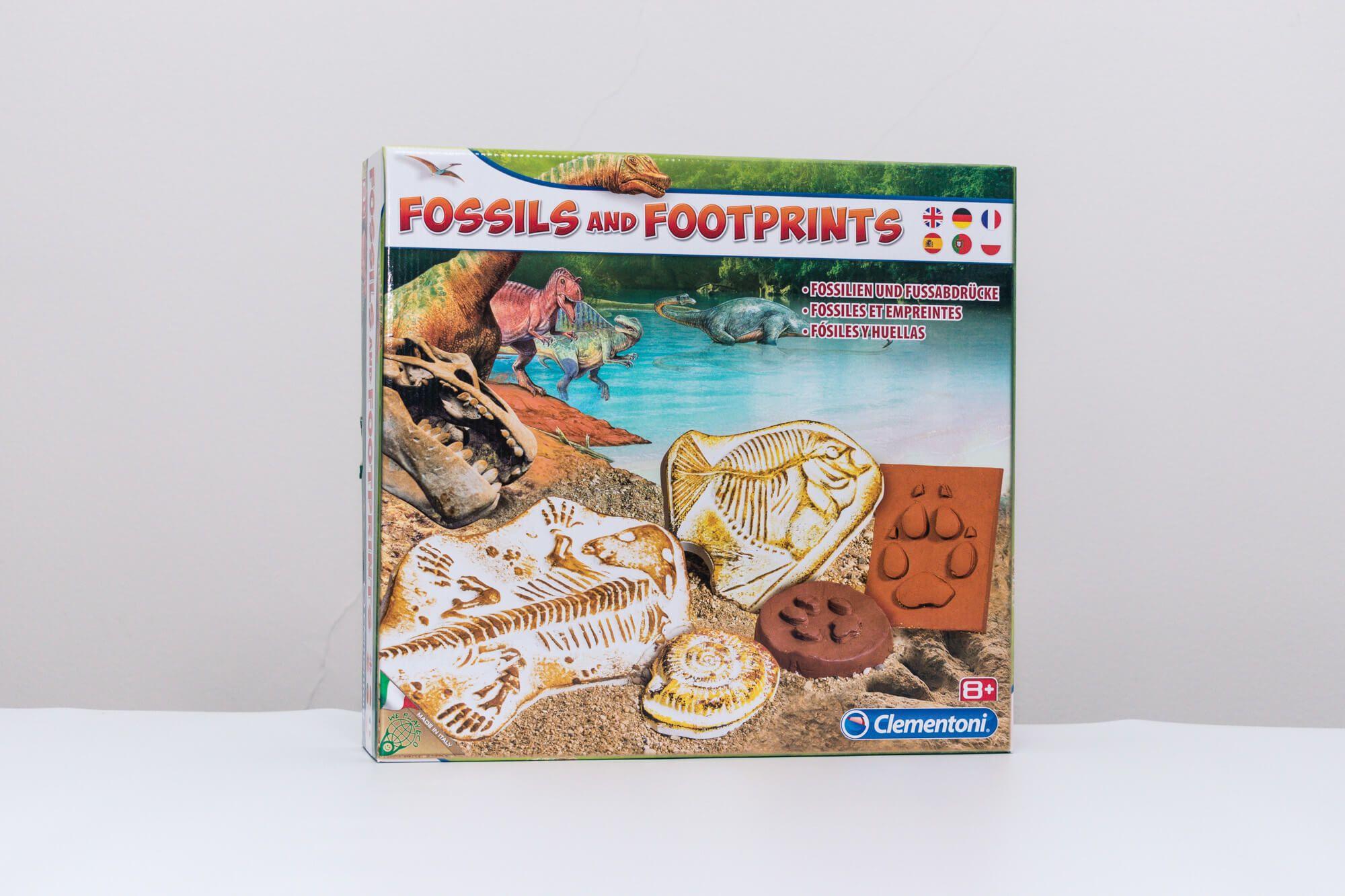 Clementoni Fosil i otisci stopala