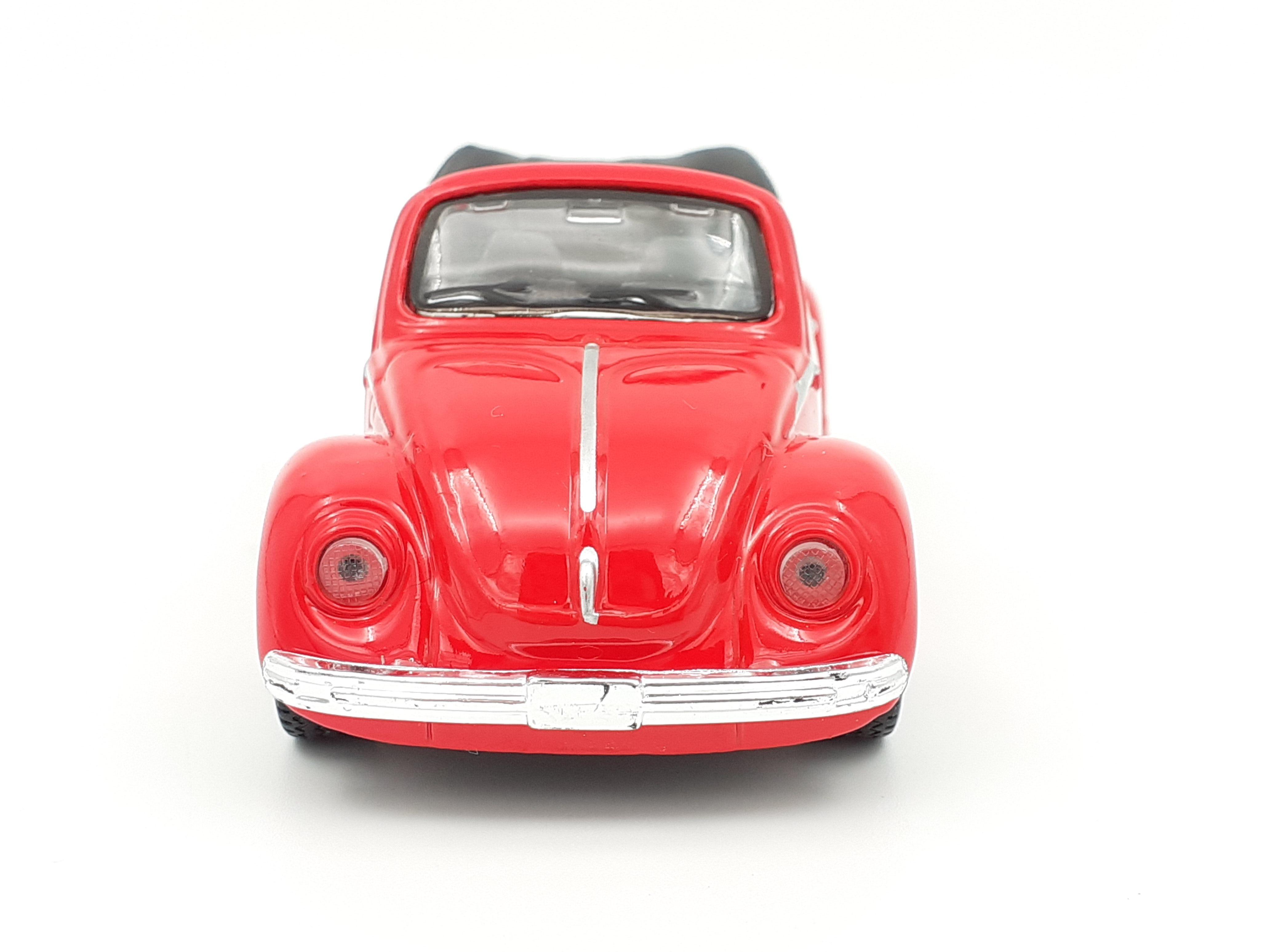 Maisto vozilo VV Beetle cabrio crveni