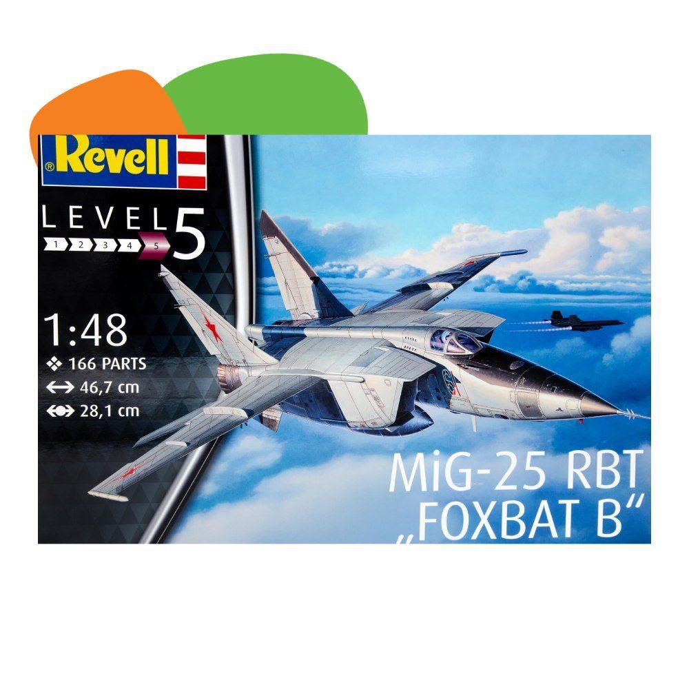 Revell maketa MIG 25 RBT Foxbat B 1:48