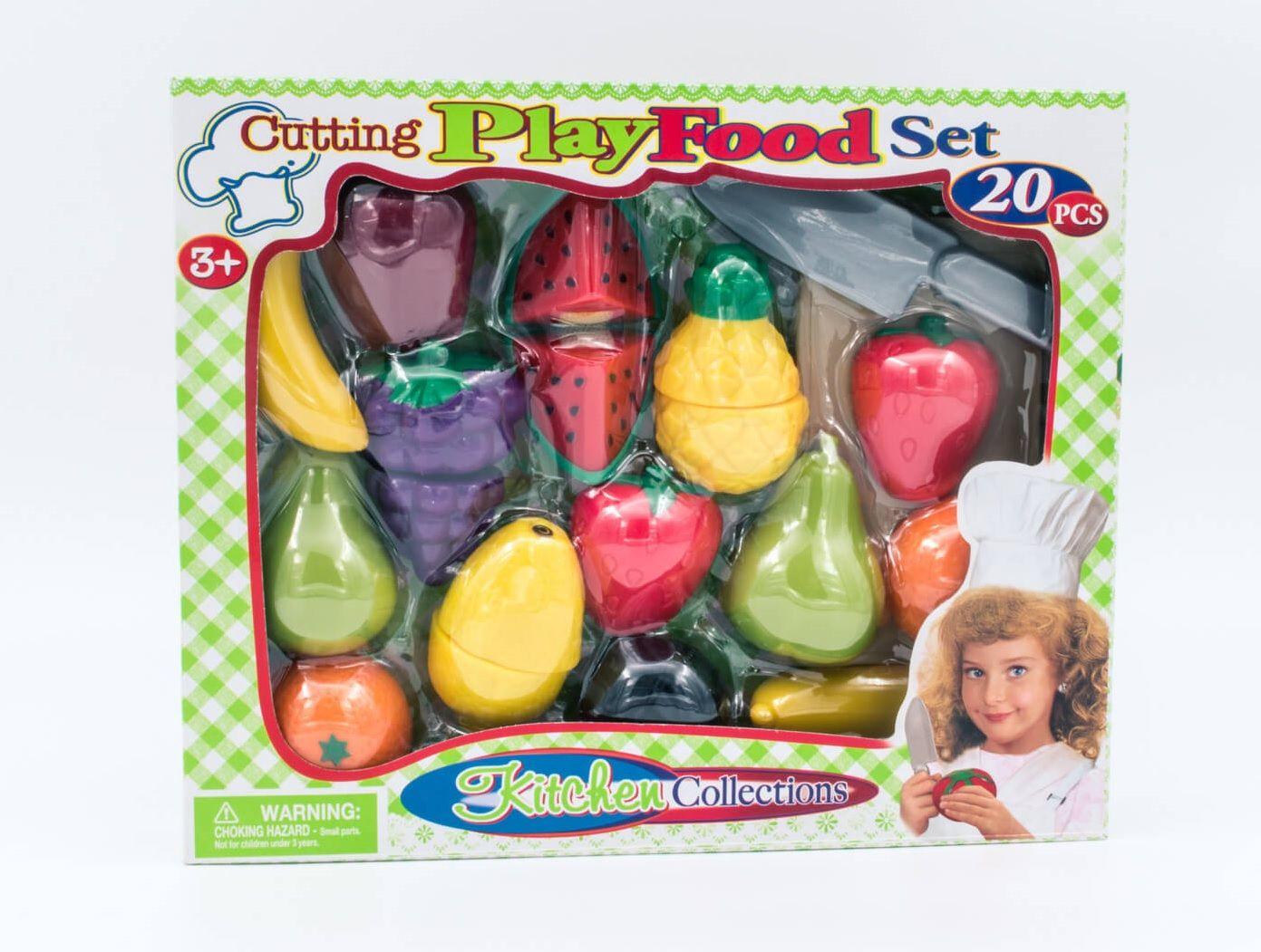 Plastični set voće