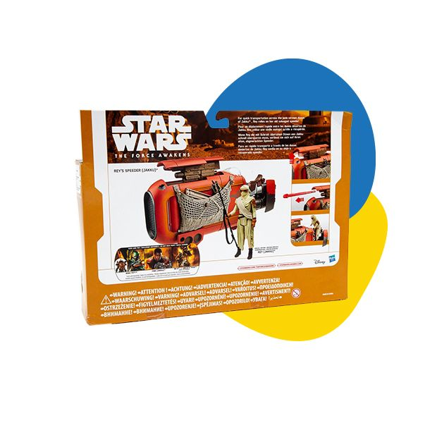 Star Wars Rey's Speeder Jakku